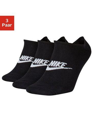 Nike Sneakersocken (3-Paar) mit Logo auf dem Mittelfuß