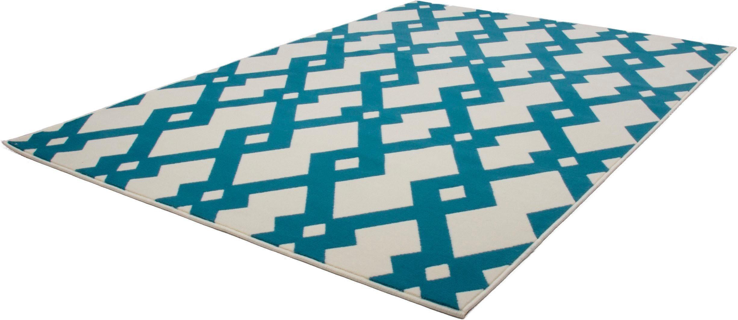 Teppich Kurzflor Hochwertig 5708-Beige Braun Creme 80 120 140 160 200