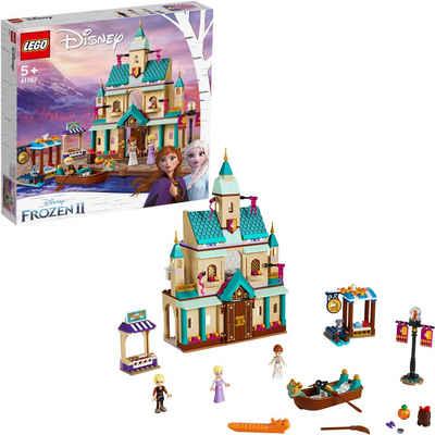 LEGO® Konstruktionsspielsteine »Schloss Arendelle (41167), LEGO® Disney Princess«, (521 St)