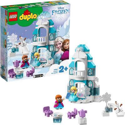 LEGO® Konstruktionsspielsteine »Elsas Eispalast (10899), LEGO® DUPLO® Disney Princess«, (59 St)