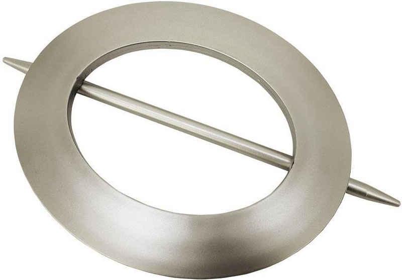 Dekoklammer »Dekoring Oval, Kunststoff«, GARDINIA, (1-St), Serie Gardinenspangen / Raffspangen