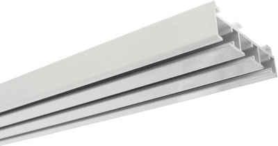 Gardinenschiene »Flächenvorhangschiene 3-läufig«, GARDINIA, kürzbar, Fixmaß, Serie Flächenvorhang Technik Atlanta