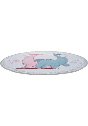 NICI Vaikiškas kilimas »Lama Lamina« ovali ...