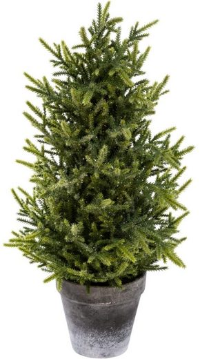 Kunstbaum »Tannenbäumchen«, my home, Höhe 50 cm, Glitter, Höhe 50 cm