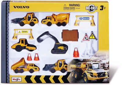 Maisto® Spielzeug-Auto »Volvo Baufahrzeuge Set«, (Set)