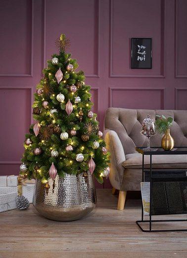 Weihnachtsbaumkugel (30 Stück), in zarten Pastellfarben