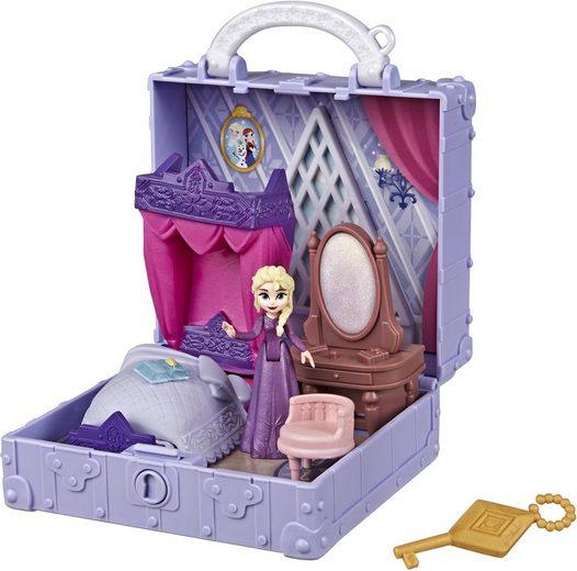 Hasbro Puppenhaus »Die Eiskönigin II, Pop-Up Abenteuer Elsas Zimmer Spielset«, mit Griff, inklusive Elsa Puppe