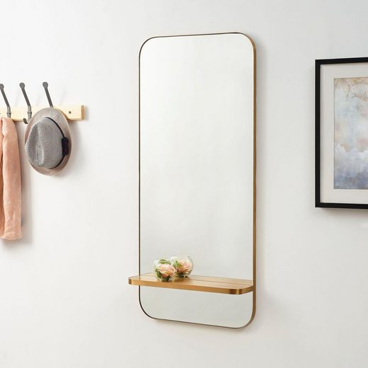 COUCH♥ Spiegel »Me«, Spiegel mit Regal, COUCH Lieblingsstücke
