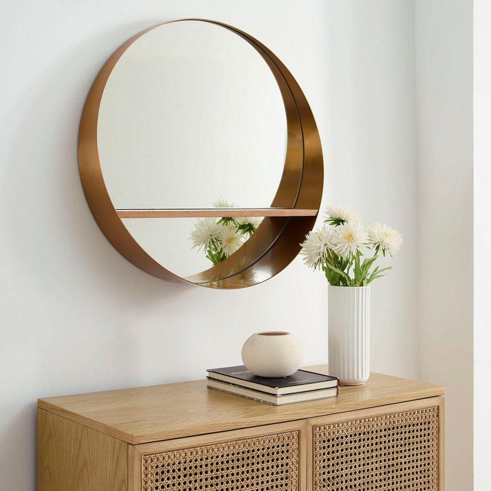 COUCH♥ Spiegel »Glasklar«, Spiegel mit Regal, COUCH Lieblingsstücke online  kaufen  OTTO