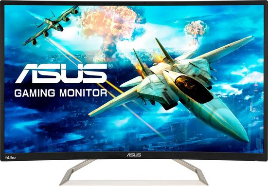 Asus VA326HR Curved-Gaming-Monitor (1920 x 1080 Pixel, Full HD, 4 ms Reaktionszeit, 144 Hz)