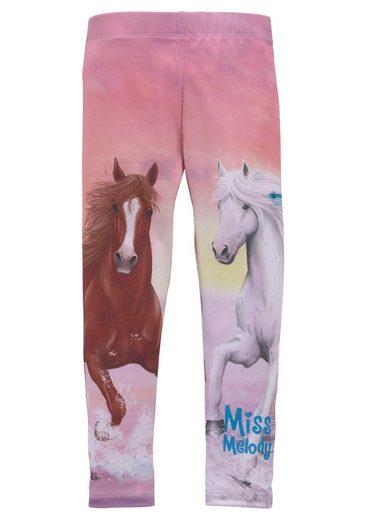 Miss Melody Leggings mit schönem Pferdemotiv