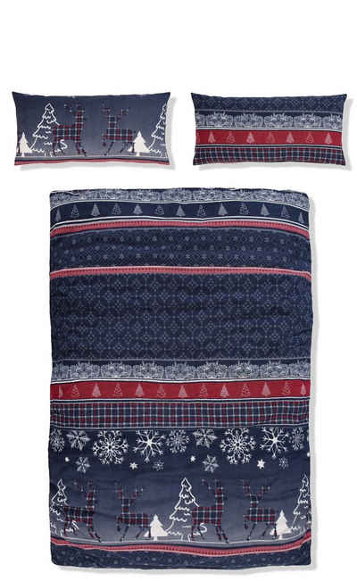 Bettwäsche »Chrissy«, my home, in kuschelig warmer Fleece-Qualität