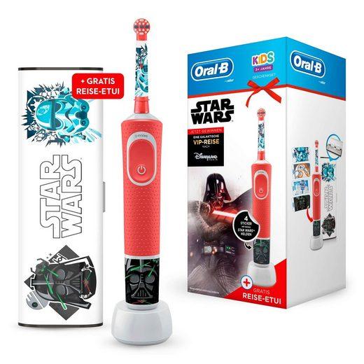 Oral B Elektrische Kinderzahnbürste Kids Star Wars Special Edition, Aufsteckbürsten: 1 St.