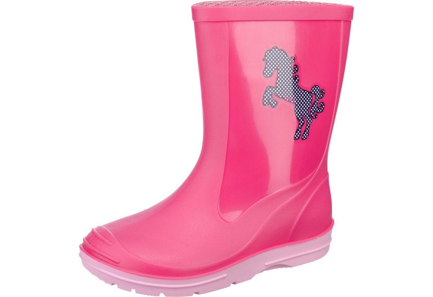 Damen,  Mädchen,  Kinder HORKA Gummistiefel für Mädchen rosa   08718675309916