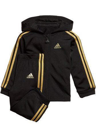 ADIDAS PERFORMANCE Sportinis kostiumas »SHINY FULLZIP HOO...