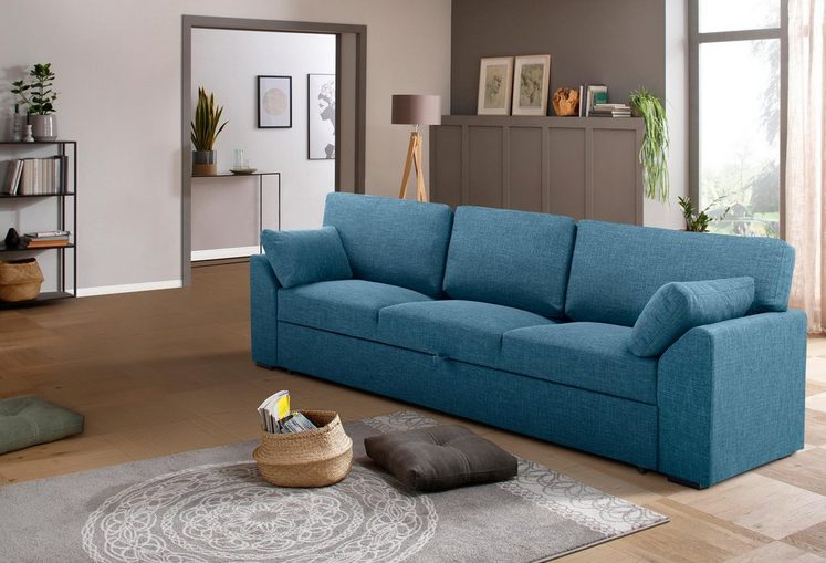 Premium collection by Home affaire Schlafsofa 3-Sitzer »Garda«