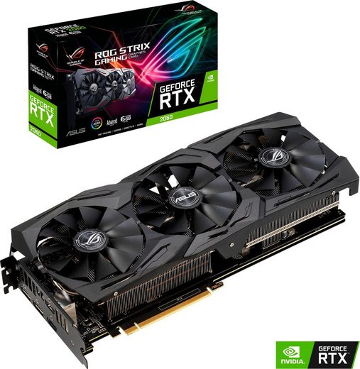 Asus »ROG STRIX GeForce RTX 2060« Grafikkarte (6 GB, GDDR6)