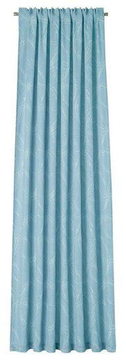 Vorhang »Ovalis«, DEKO TRENDS, verdeckte Schlaufen (1 Stück), Schal mit verdeckten Schlaufen