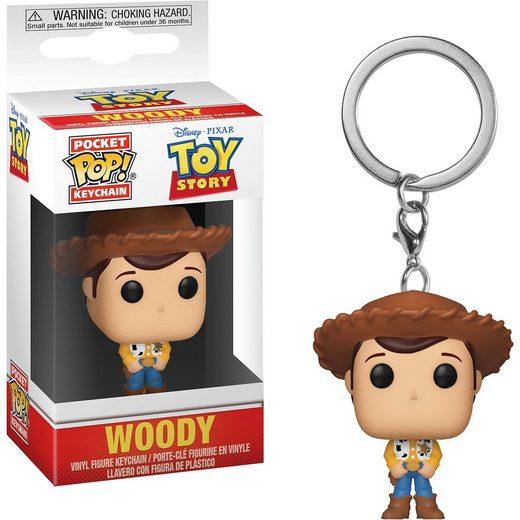 Funko POP! Schlüsselanhänger: Toy Story - Woody
