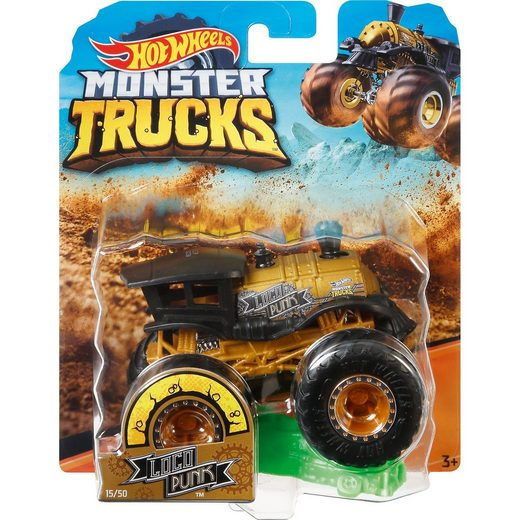 Mattel® Hot Wheels Monster Trucks 1:64 Die-Cast Loco Punk