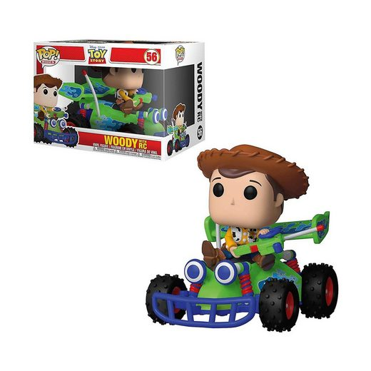 Funko POP! Ride: Toy Story - Woody mit RC-Auto
