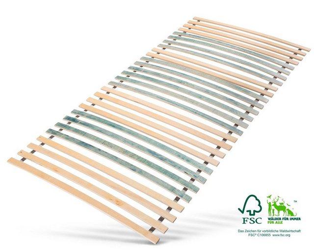 Rollrost, »7 Zonen Rollrost«, Jekatex, 28 Leisten, Kopfteil nicht verstellbar, bis 200 kg belastbar | Schlafzimmer > Lattenroste > Rollroste | Jekatex