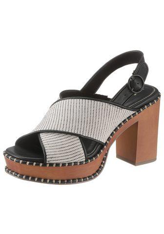 TAMARIS Aukštakulniai sandalai »Claudie«