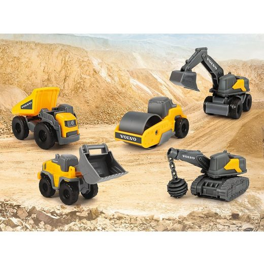 Dickie Toys Volvo Construction 5 Pack