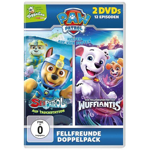 DVD PAW Patrol - Fellfreunde retten Wufflantis & Sea Patrol