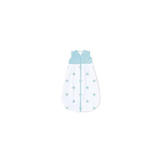 Pinolino® Sommer-Schlafsack Sternchen, hellblau, 70 cm