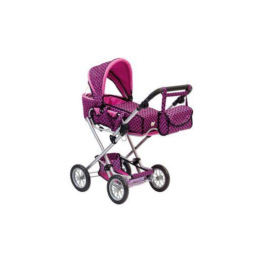BINO Puppenwagen mit Tasche