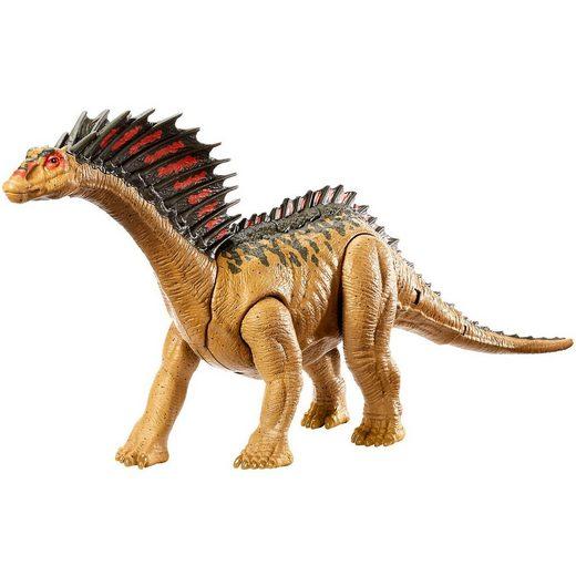 Mattel® Jurassic World Dino Rivals Mega Doppel-Attacke Amargasurus