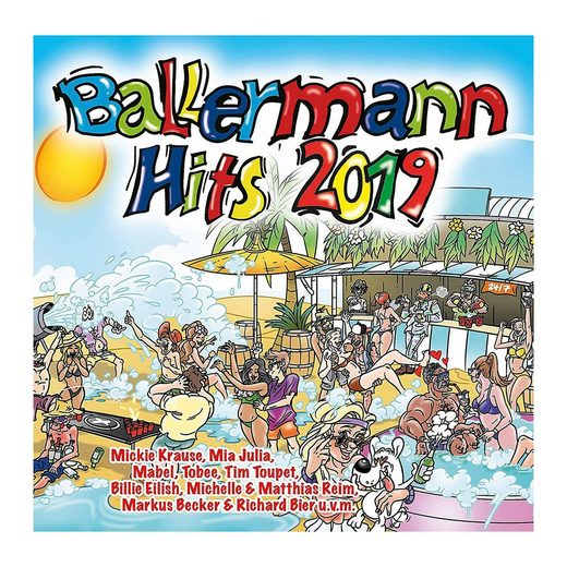 Universal CD Ballermann Hits 2019