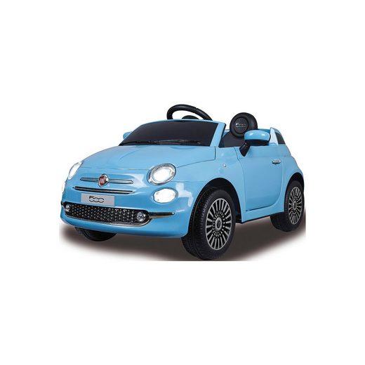 Jamara Ride-on Fiat 500 blau 12V