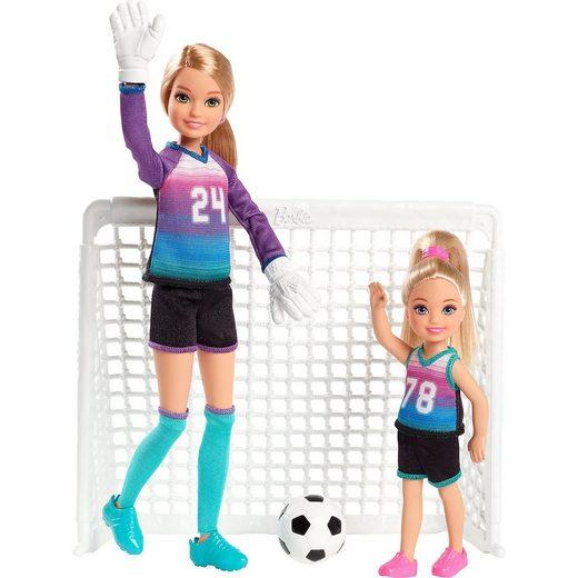 Mattel® Barbie Fußball Stacie und Chelsea
