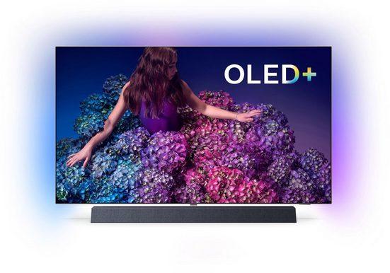 Philips 55OLED934/12 OLED-Fernseher (139 cm/55 Zoll, 4K Ultra HD, Smart-TV)