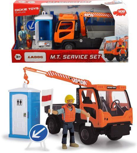 Dickie Toys Spielzeug-Kipper »Playlife - M.T. Set«, (Set, 4-tlg)
