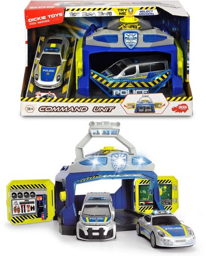Dickie Toys Spiel-Polizeistation »Command Unit«