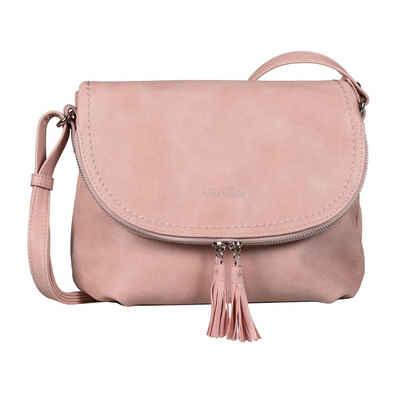 TOM TAILOR Umhängetasche »LARY«, Crossbody Bag mit modischen Quasten am Zipper