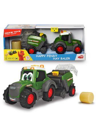 """DICKIE TOYS Spielzeug-Traktor """"Happy SeriesFe..."""