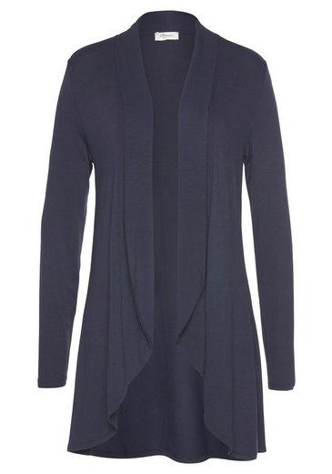 Boysen's Shirtjacke in langer Vokuhila-Form