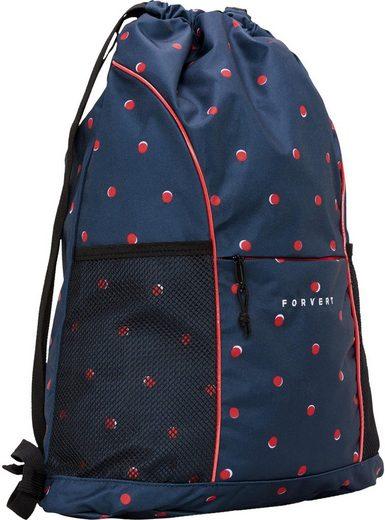forvert Turnbeutel »Lando bag, navy double dots«