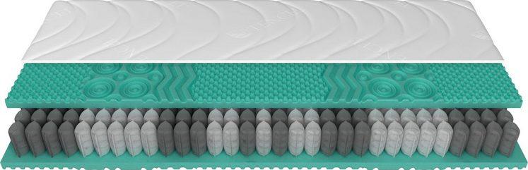 Taschenfederkernmatratze »Superior 22 TFK«, Schlaraffia, 22 cm hoch, 434 Federn, (1-tlg), mit 434 Federn (bezogen auf das Federkernmaß 100x200 cm)