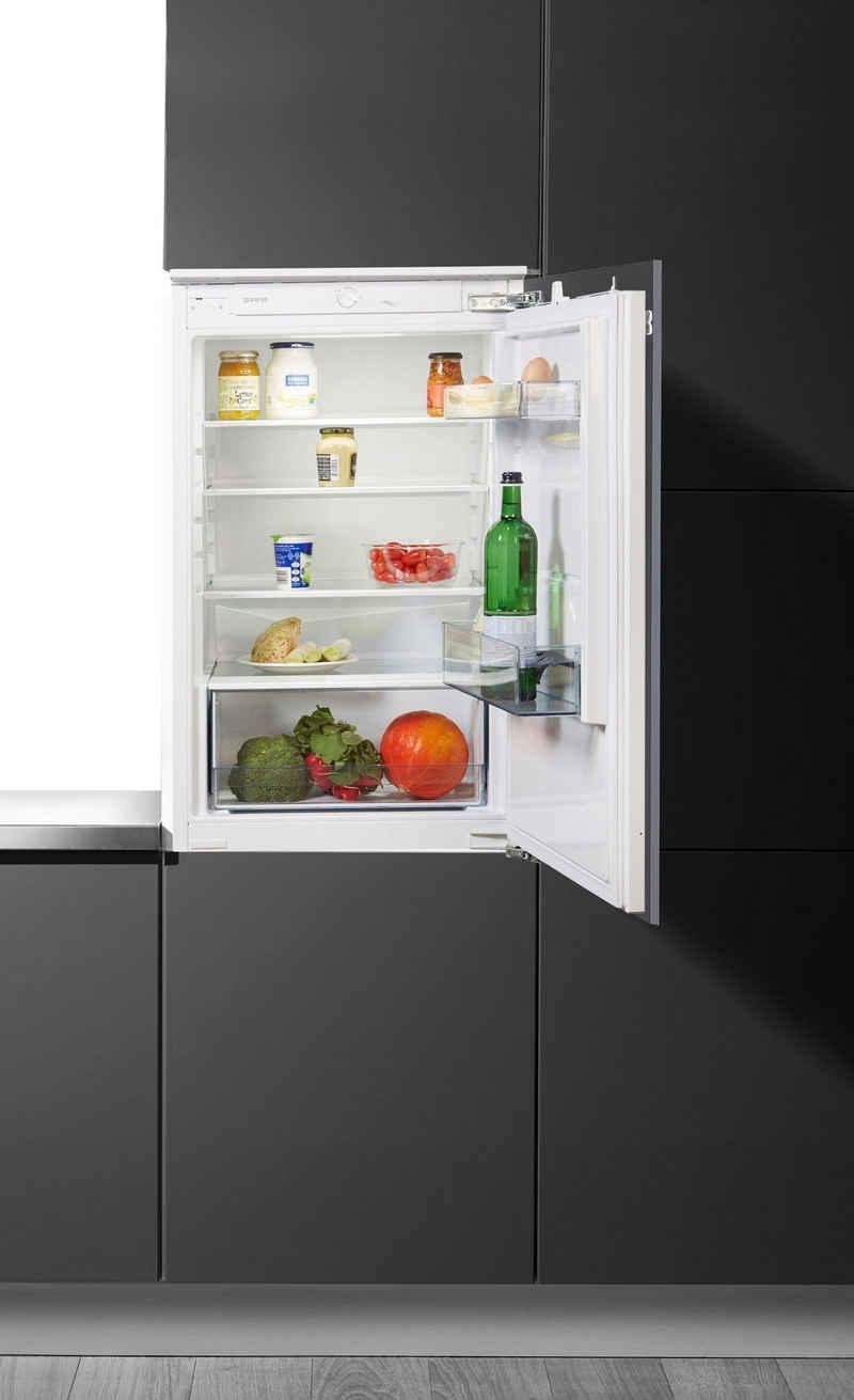 GORENJE Einbaukühlschrank RI2092E1, 87,5 cm hoch, 54 cm breit, integrierbar