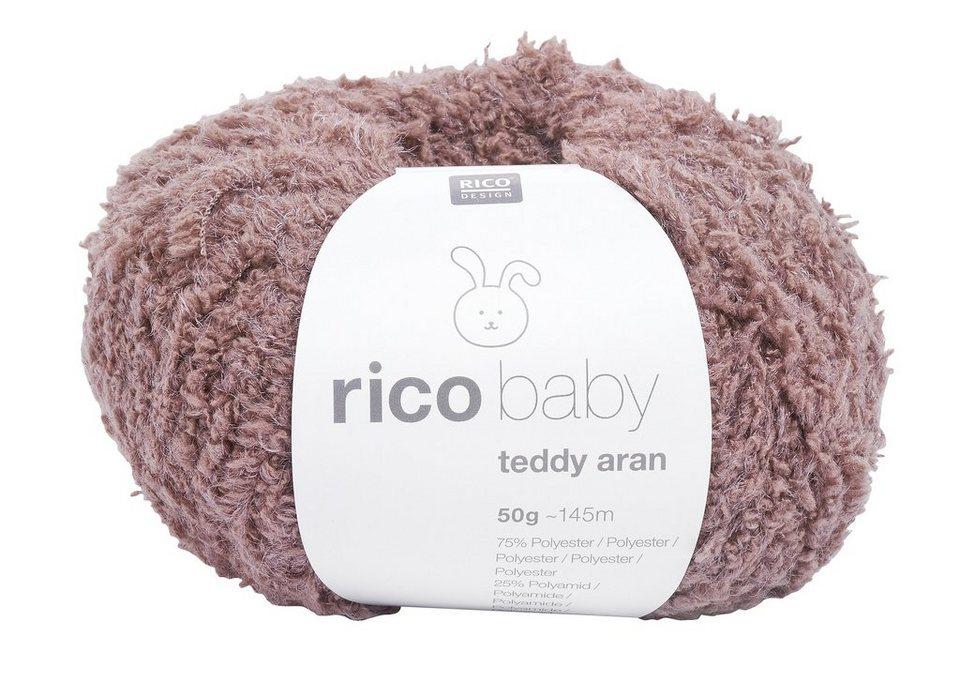 Rico Baby Wolle.Wolle Rico Baby Teddy Aran Inhalt 50g Online Kaufen Otto