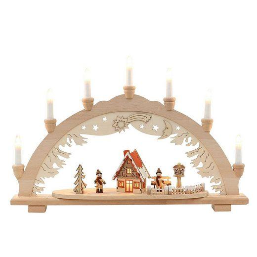 SIGRO Holz Schwibbogen »Winterfiguren«