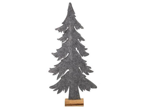 HTI-Living Weihnachtsbaum auf Holzsockel