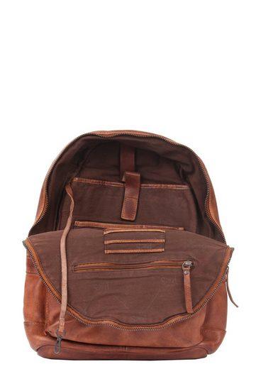 PRESLY & SUN Rucksack mit praktischer Außentasche