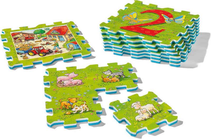 Ravensburger Puzzlematte »my first play - Erstes Zählen und Bauernhoftiere«, FSC® - schützt Wald - weltweit