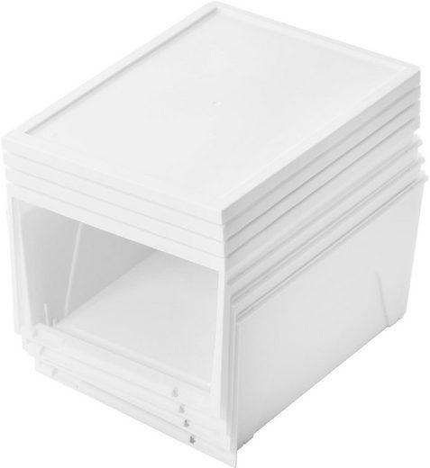 IRIS OHYAMA Schuhbox (Set, 3 Stück), stapelbar